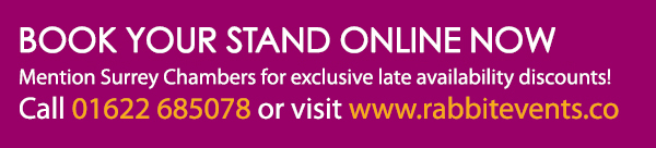 Book your stand online now